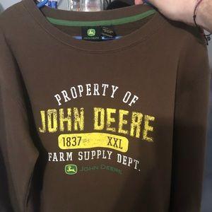 John Deere Sweatshirt. Never worn!